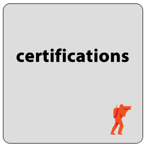 training & certifications